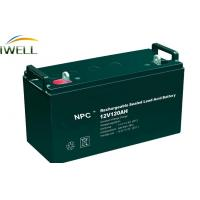 High Power 120Ah Rechargeable Sealed Lead Acid Battery 12v For Power Tools Manufactures