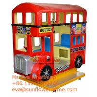 Buy cheap Game Center Luxury Best London Bus Kiddie Rides For Sale in Pakistan market from wholesalers
