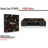 New Product 2018 H96 MAX H2 RK3328 4G 64G Cheap Iptv Set Top Box Android 7.1 Os Tv Box Manufactures