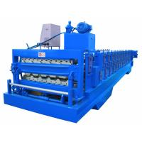 Automatic PLC Frequency Control Double Layer Roofing Sheet Roll Forming Machine Manufactures