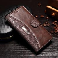 Vintage Splitting Huawei Leather Case For Honor 9 Joint Litchi No Scratch Manufactures