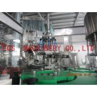 750ML Bottle Wine Automatic Washing Filling Capping Machine For Vodka / Vhisky Manufactures