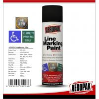 Weather Proof Road Marking Spray Paint For Concrete / Asphalt / Glass Manufactures