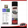 Weather Proof Road Marking Spray PaintFor Concrete / Asphalt / Glass Manufactures