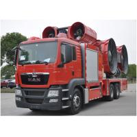 Large Power Fire Brigade Truck / Fire And Rescue Vehicles ISO9001 / CCC Manufactures