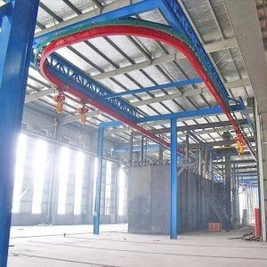 Hanging Chain Aluminium Hanger Type Shot Blasting Machine Manufactures
