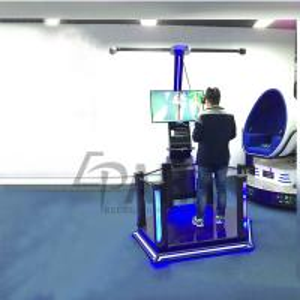 Quality Epark Virtual Reality Machine , Metal + Glassfibre Amusement Park Equipment for sale