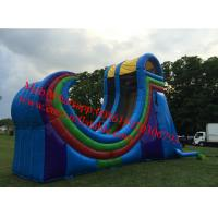 Half pipe giant inflatable water slide rents for 20′ tallx30 longx16′wide Manufactures