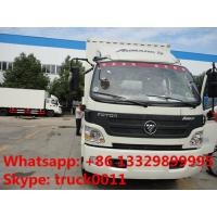 foton 130hp cold room truck for sale, hot sale foton Aumark refrigerated truck for sale Manufactures