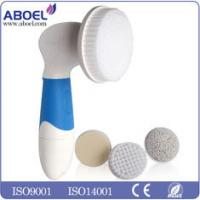 Light Weight Powered Facial Cleansing Brush Mini For Moisturizing Face Skin Manufactures
