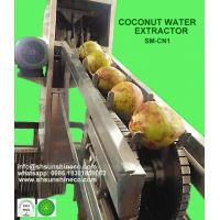 High Efficiency Coconut Water Extractor Coconut Processing Machine Manufactures