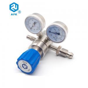 Low Pessure 500psi Nitrogen Adjustable Argon Dual Stage Pressure Regulator Manufactures