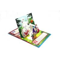Quality Coloring Pop-up Story Book Printing Service With Pantone Color Printing for sale