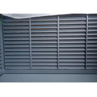 Elegant Design Louvered Glass Windows , Residential Decorative Exterior Shutters Manufactures
