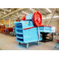 Assembled V Type Lime Stone Jaw Crusher Machine Brake Motor With Safety Switch Manufactures