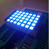 Ultra Blue 3mm 5X7 Dot Matrix Led Display Row Cathode  For Elevator Position Indicator Manufactures