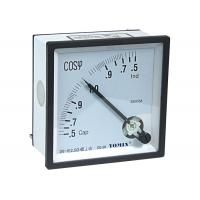 Three Phase Analogue Panel Meters , Selection of Power Factor Meter 96*96 Manufactures
