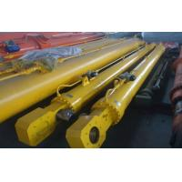 Single / Double Acting Hydraulic Cylinder Flat Gate Hydraulic Hoist For Dump Truck Manufactures