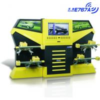 E767A Yellow CCD 3excel Wheel Aligner , Automotive Four Wheel Tire Alignment Computerized Manufactures