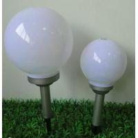 Quality White / Warm Solar Ball Lights Dia 40CM IP65 Solar Acrylic LED Ball Lamp for sale