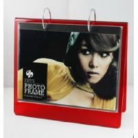 red calender 6x8 acrylic photo frame Manufactures