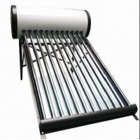 Non-pressurized Solar Water Heater with 1.5 to 3kW Electric Heater Manufactures