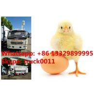 bottom price 4-5tons hydraulic poultry feed truck for chick farm for Philipines, hot sale 11m3  feed transported truck Manufactures