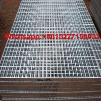 Galvanized steel grating price Manufactures