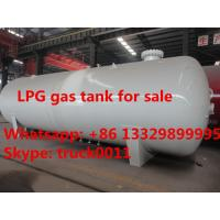 Quality hot sale ASME standard 20 metric tons surface lpg gas storage tank, factory sale for sale
