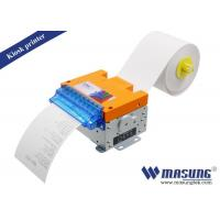 POS Kiosk Thermal Printer Module Full / Partial Cutting Method For Parking Machine Manufactures