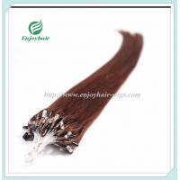 """Micro ring loop hair extensions 16""""-26""""L brazilian remy hair 33# color hair Manufactures"""