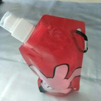 Easy to carry out Water Bottle Bag Stand Up Pouch With Spout in PET / Nylon / LDPE Manufactures