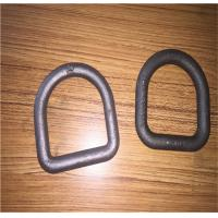 Forged Steel Safety D Rings / Lifting D Rings One Way Buckle LC8KN Stamping Manufactures
