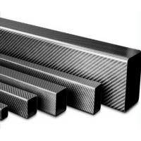 Buy cheap Professional manufacturer carbon fiber square and rectangular tube for selling from wholesalers
