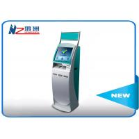 19 inch information inquiry self service kiosk with card vending function Manufactures