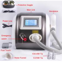 1064nm 532nm Laser Pigment Removal / Tattoo Removal Machine Multifunction 1000mj Manufactures