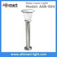 Buy cheap Stainless steel H60cm 1W landscaping ground mounting lights solar garden lawn from wholesalers