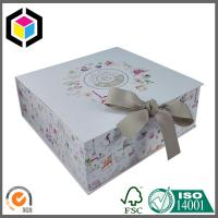 Matte Color Printed Gift Paper Box; Satin Close Handmade Luxury Gift Box Manufactures