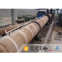 Titanium Dioxide Vertical Shaft Kiln For Lime , Industrial Rotary Kiln Furnace Manufactures