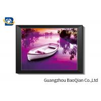 Custom Size 3D Lenticular Pictures With Frame 30 X 40 Cm For Advertisement Manufactures