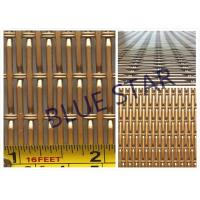 Aluminum Pre Crimped Wire Mesh Screen For Farm & Decoration Smooth Top Anti - Corrosion Manufactures
