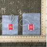 Buy cheap E1002 7.5*9cm High quality heat-seal corn fiber empty tea bag from wholesalers
