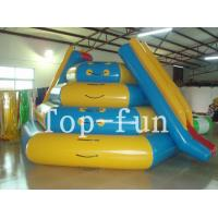 PVC Inflatable Water Parks , Inflatable Playground For Rental Durable Manufactures