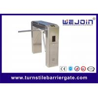 China Automatic Tripod Access Control Turnstile Gate With Indicate Passing Status on sale
