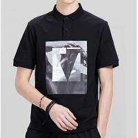 High End Mens Short Sleeve Polo Shirts Golf Clothes Lightweight Screen Printing Manufactures