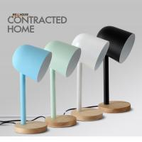 Quality Modern table lamp for bedroom lving room Study room abajur para quarto Colorful for sale