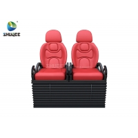 Electric 5D Movie Theater System 5D Motion Chair With Vibration Push back Leg tickler Manufactures