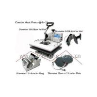 5 in 1 Combo Heat Transfer Machine Manufactures