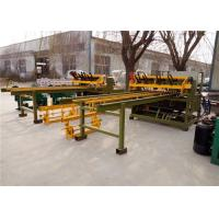 Pre - Straightened Wires Fence Mesh Welding Machine In Panel Sheet Fast Speed Manufactures