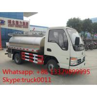 factory direct sale best price dongfeng 2,000L-4,000L milk tank, 2017s new stainless steel liquid food transported truck Manufactures